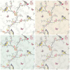 Holden Decor Phoebe Wallpaper - Shabby Chic Song Birds - Statement Wall Decor