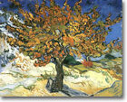 HUGE Van Gogh MULBERRY TREES Stretched Canvas Giclee Art Repro Print  ALL SIZES