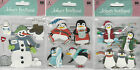 U CHOOSE   Jolee's SNOW DAY PENGUIN PLAY PENGUINS 3D Stickers winter