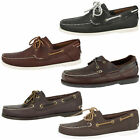 TIMBERLAND 2 EYE BOAT LEATHER SHOES HERITAGE PREMIUM BOAT SHOES MOCCASIN