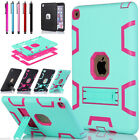 For iPad Air 2/ Mini 1/2/3/4 Shockproof Heavy Duty Rubber Hard Case Stand Cover