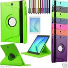 "360 Rotation Leather Smart Case Cover For Samsung Galaxy Tab A 9.7"" SM-T550 P550"