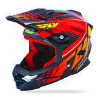 NEW FLY RACING DEFAULT BMX DOWNHILL MTB ADULT HELMET BLACK/RED ALL SIZES