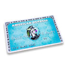 Dface D*Face Dismaland Banksy Fridge Magnets American Depress Card + Note Pair