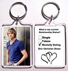 Eric Christian Olsen Acrylic Keychain - Many To Choose From