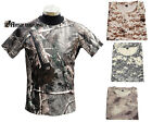1X Military Breathable Soft T-Shirt Men Army Combat Paintball Quick Drying Shirt