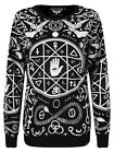 Killstar Cult Women's Black Sweater