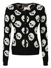 Jawbreaker More Skulls Women's Black Cardigan