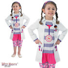 FANCY DRESS COSTUME ~ GIRLS DISNEY DOC MCSTUFFINS CHILD AGE 2-6 YEARS