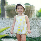 SALE 25% off Baby girl ruffle sunsuit grow suit