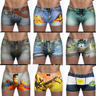 Stylish Mens 3D Cartoon Underwear Shorts Boxer Briefs Underpants Breathable sexy