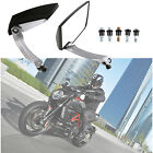 Universal Motorcycle Diamond Rearview Rear View Side Mirror 8mm 10mm 5 Colors