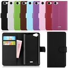 Flip Magnetic Wallet Leather Card Case Stand Cover For Wiko Rainbow Jam / Lenny2