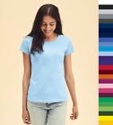 78f8b8c42 Fruit of the Loom: Damen T-Shirt, in 17 Farben * Fit Valueweight