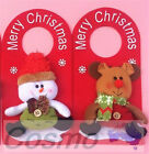 Xmas Christmas Door Hanging Decoration Family Party Home Gift Children Gate
