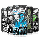 OFFICIAL 5 SECONDS OF SUMMER SAFETY PIN HEART BACK CASE FOR APPLE iPHONE PHONES