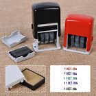 Self-Inking Automatic Rotation Mini Dater Date Chop Stamp Seal + Ink Pad