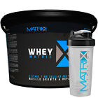 WHEY PROTEIN POWDER - MUSCLE GROWTH - CHOC MINT - IN 2 SIZES BY MATRIX NUTRITION