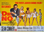 """DR.NO"" Sean Connery & Ursula Andress Vintage Movie Poster Various Sizes $12.73 AUD on eBay"