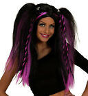 Ladies Japanese Style Katsumi Wig Gothic Vamp Rock Chick Colour Braids Fancy Dre