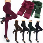 6 Colors Brushed Stretch Fleece Lined Thick Leggings Winter Warm Leggings Gift