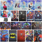 """Kids Heros Frozen Leather Stand Flip Folio Cover Case For RCA 7"""" 10"""" Tablet PC"""