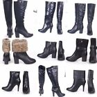 Womens Forever Young  Black Boots , Booties,Knee High