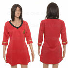 Star Trek Female Duty TOS Uniform Summer Dresses Red/ Blue XS-XXXL on eBay
