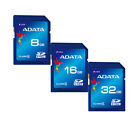 ADATA Class 4 8GB,16GB,32GB SDHC SD Card Flash Memory for DSLR, Camera, Tablet