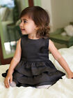 Black Tiered Toddler Girls Party Dress by Velvet & Tweed Size 2T, 3T, 4T $75 NWT