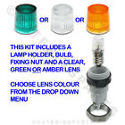 VALENTINE ZENITH SERIES FRYER LAMP BULB HOUSING KIT - CHOOSE YOUR LENS COLOUR