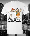 The Flintstones Relationship Goals Graphic T-shirt Novelty Dabbing Funny Humour