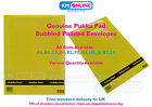 GENUINE PUKKA PAD PADDED BUBBLE WRAP LINED ENVELOPE POSTAL BAG MAIL BAG ALL SIZE