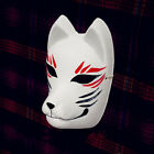 Full Face Hand-Painted Japanese Fox Mask Meiko Kitsune Cosplay Masquerade Party