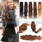 Brazilian Natural Body Wave Weave Remy Human Hair Extensions 50g One Bundle
