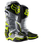 2016 Fox MX Instinct Boot - A1 Kroma Limited Edition Grey Yellow Motocross Offro