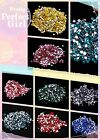 3.0-3.2mm SS12 Flatback Rhinestone 12ss Non Hot fic Nail Art Rhinestone assorted