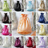 """240 pcs 6x9"""" Large SATIN FAVOR BAGS - Wedding Drawstring Gift Pouches Discounted"""