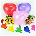 100 Love Heart Shape Latex Balloon Birthday Wedding Party Celebration Decoration