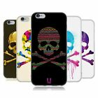 HEAD CASE DESIGNS TOTENKOPF SOFT GEL HÜLLE FÜR APPLE iPHONE HANDYS