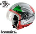 Nitro X548 ITALY - Open Face Motorcycle Motorbike Helmet - Scooter