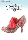 Irregular Choice décolleté Flick Flack Red Floreale rosso Tgl 39 NUOVE