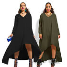 Sexy Womens Casual Chiffon Long Sleeve Evening Cocktail Party Beach Maxi Dress