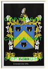 PALMER Family Coat of Arms Crest - Choice of Mount or Framed