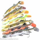 Savage Gear Hybrid PIKE Lure 17cm /45g Real 3D -with spare Tails - ALL COLORS!!