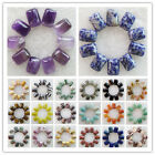Wholesale! 10 Pcs 18x13mm Mixed Gemstone Oblong Flatback Cabochon XJ-621