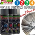 Pro Range Wheel Aerosol Colour Primer/Groundcoat/Topcoat/Lacquer Paint Kits