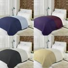 SOFT QUILTED COMFORTER MICROFIBRE THROW BEDSPREAD BEDDING FITS DOUBLE KING SIZE