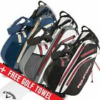 Callaway Golf 2016 Aqua Dry Stand Bag Carry Waterproof Golf Bag 5-Way Divider