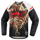 Icon Deadfall Mens Jersey Black/Brown/Red